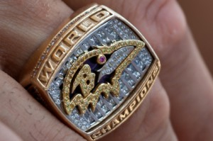 Photo of Ravens 2000 Super Bowl Ring