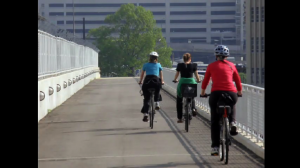photo bikers on Metropolitan Branch Trail