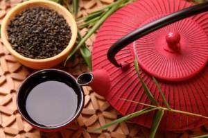 photo Japanese tea pot for ceremony