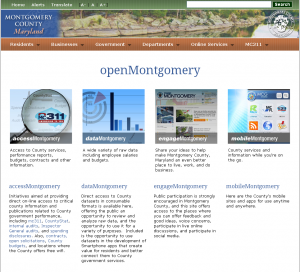 photo openMontgomery website