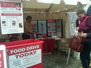 photo Manna Food Drive