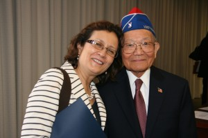 photo Maria Gomez and Terry Shima