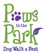 logo for Paws in the Park