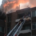 photo Silver Spring apartment fire