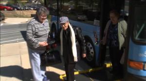 photo seniors taking public transportation
