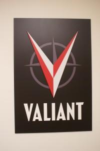 photo Valiant Entertainment sign