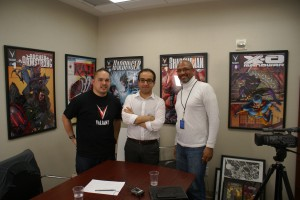 photo Ulysses Campbell at Valiant Entertainment