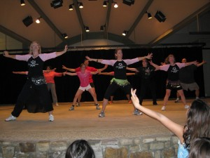 photo Zumba class in Gaithersburg Concert