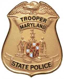 photo Maryland State Police badge