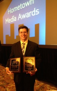 MCM Executive Director Merlyn Reineke picks up two awards at the ACM awards ceremony.