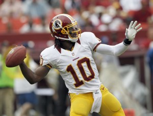 Robert Griffin III won NFL Offensive Rookie of the Year, among other honors, last season.