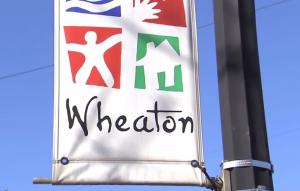 Wheaton Street Sign