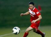 Diana Matheson (8) of the Washington Spirit