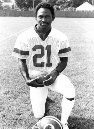 Mike Nelms was a fearless Redskins kick returner in the 1980s.