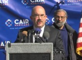 George Leventhal at Eid Rally 450x280