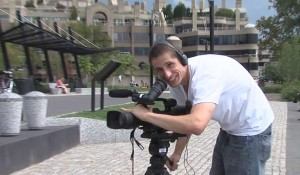 Stephen on Camera at Georgetown Waterfront