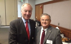 Peter Franchot, George Whitehouse  Photo courtesy of Van Eperen & Company