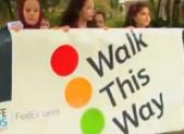 Walk to school day 2013