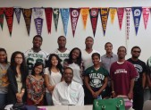 Woodrow Wilson High School Students With Mr. Gregory Wims