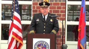 Fire Chief Steven Lohr