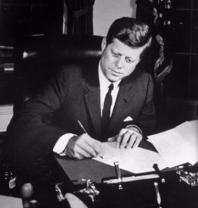 For someone so inspirational, JFK missed the boat on his college application essay! Not that it mattered---for him!