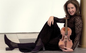 Violinist Nurit Bar-Josef