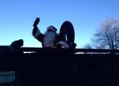 Santa Waving 2