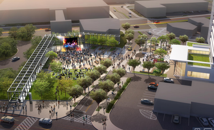 Plans for the Wheaton Redevelopment Program.