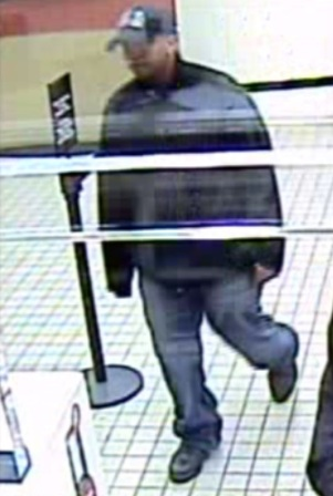Bank of America robbery suspect  Photo | Montgomery County Police