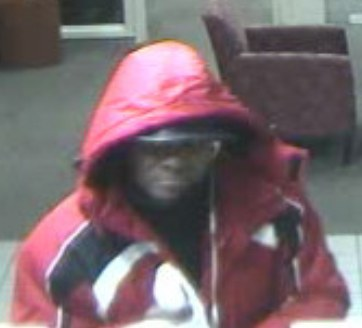 Wells Fargo Bank robbery suspect.  Photo: Montgomery County Police