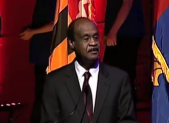 Ike Leggett at Strathmore