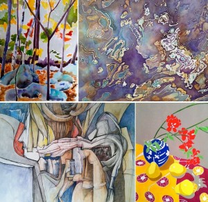 New Works on Paper Exhibit at Gallery B Photo : Bethesda UP