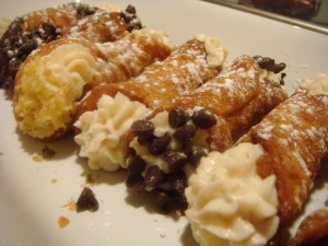 Picture of cannoli