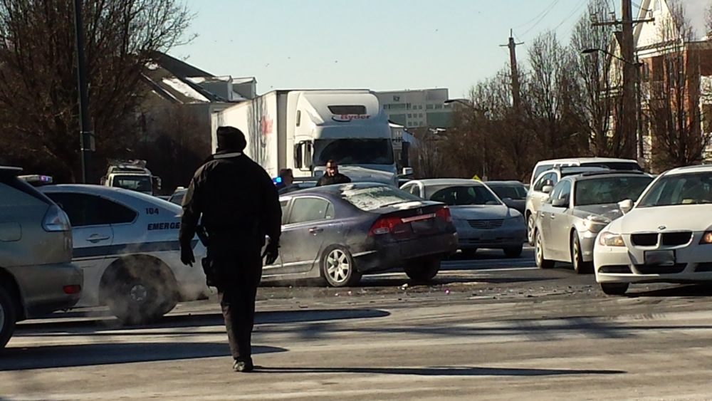 Redland Road and Route 355 Car Accident (Photos