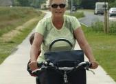 grandma bike riding