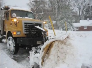 MCDOT Plow snow reponse