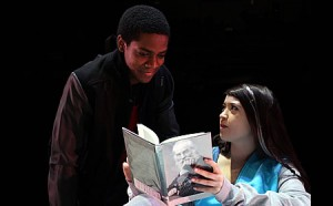 photo Thaddeus Fitzpatrick as Anthony and Rachael Tice as Caroline