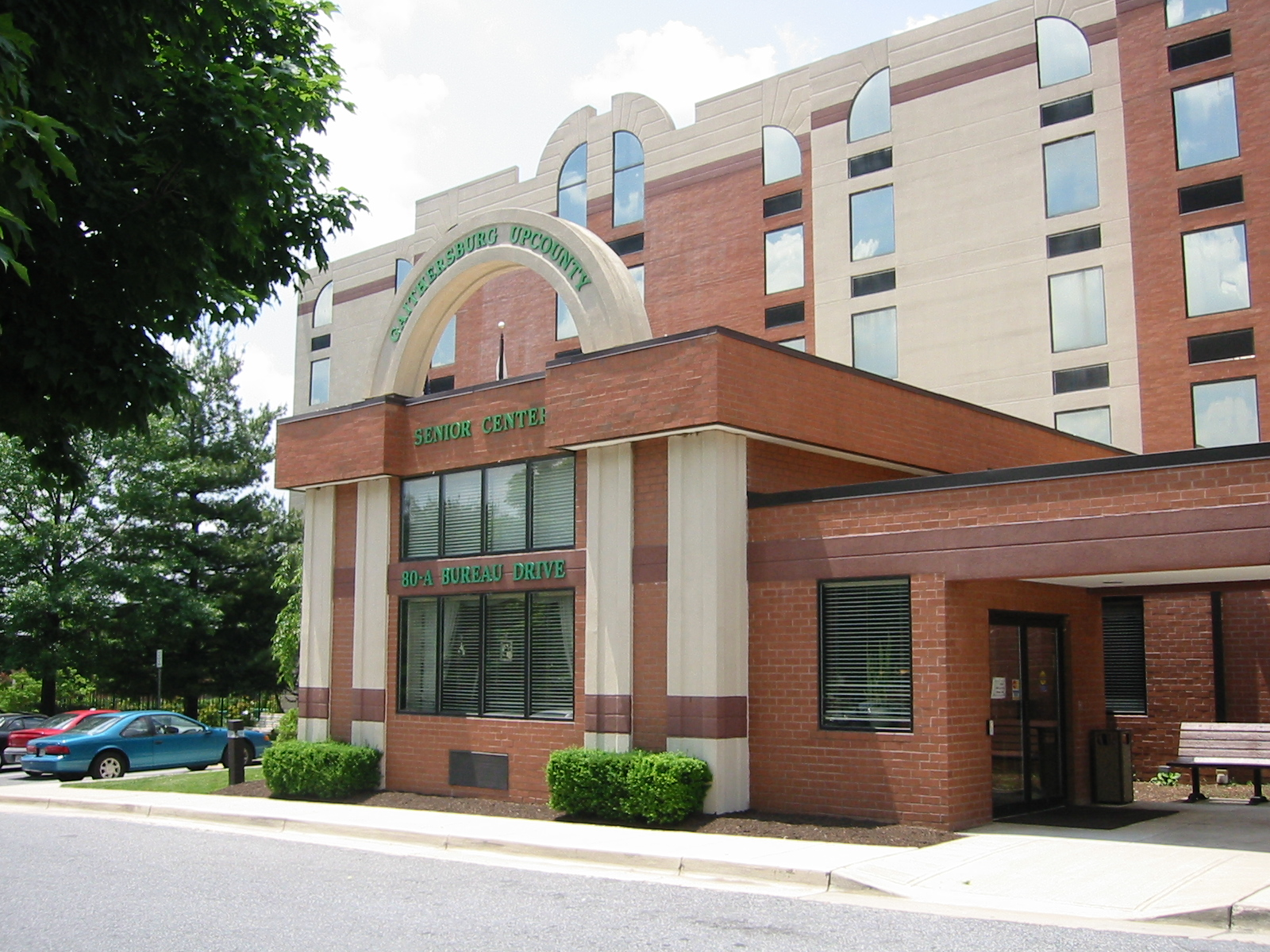 photo Upcounty Senior Center in Gaithersburg