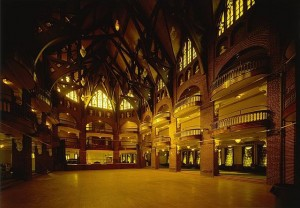 photo of interior of National Park Seminary Ballroom