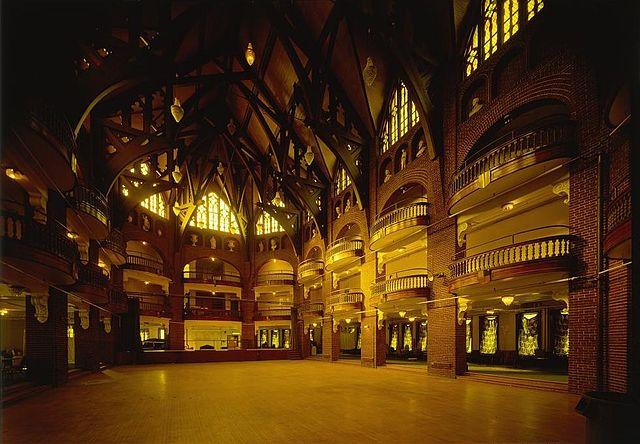 photo of interior of National Park Seminary Ballroom