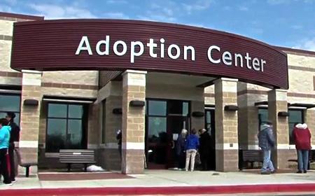 photo of new animal shelter