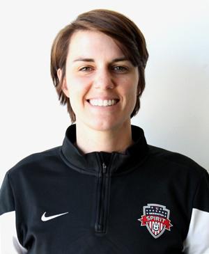 photo of Washington Spirit Assistant Coach Kati Jo Spisak