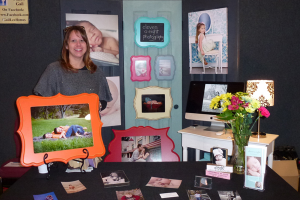 photo vendor booth at Destination Poolesville vendor booth