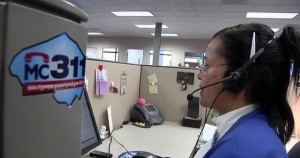 photo of MC 311 Call Operator
