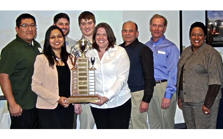 photo of Montgomery College Team that won national competition