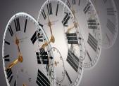 Time slips away