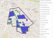 White Flint Map