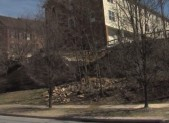 photo of Fallen Retaining Wall in Kentlands