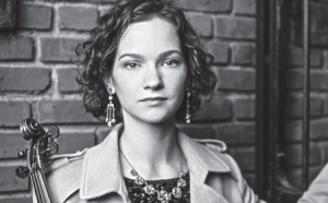 photo of Hilary Hahn