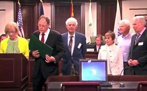 photo Mayor Sidney Katz proclamation for Older Americans Month